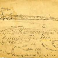 Battle at the Poplar Springs Church: Peeble's Farm