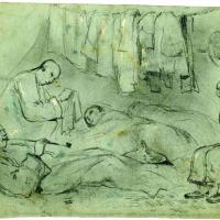 Chinese Railroad Workers' Sleeping Quarters