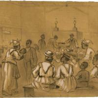 Negro Worship in the South: Taking Up the Collection